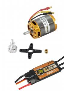Brushless-Set AL35-08 & 60A Comet  Regler 890KV 3-5S D-Power