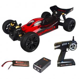SpeedRacer 4, 4WD brushless RC-Buggy RTR - Version 2016, Wasserdicht
