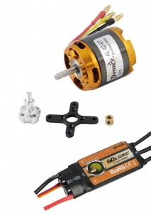 Brushless-Set AL42-07 & 60A Comet  Regler 710KV  D-Power