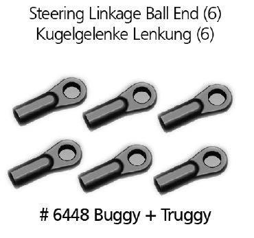 Steering Linkage Ball End Kugelgelenke Lenkung 6448, Original DF ...