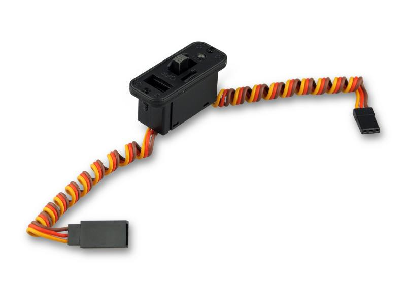 Schalterkabel JR/UNI mit LED und Ladebuchse 600205 von YUKI Model