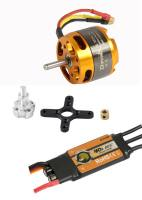 D-Power Brushless SET AL3530-10 ...