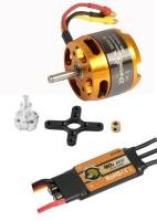 Brushless-Set AL3530-8 & 40A Com...