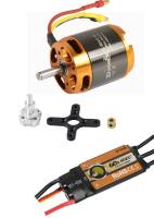 Brushless-Set AL3542-5 & 60A Com...
