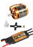 Brushless-Set AL3542-7 & 40A Com...