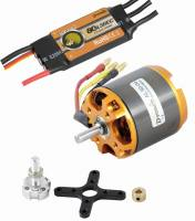Brushless-Set AL50-04 & 80A Come...