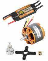 Brushless-Set AL50-05 & 80A Come...